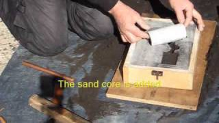 Metal Casting at Home Part 4 Backyard Foundry