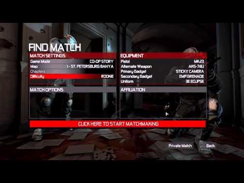 Splinter Cell  Conviction Deluxe Edition - Main Menu Overview (PC) - HD