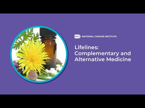 Lifelines: Complementary and Alternative Medicine
