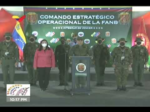Padrino López ofrece balance operativo tras culminar votación de las elecciones parlamentarias 6-D