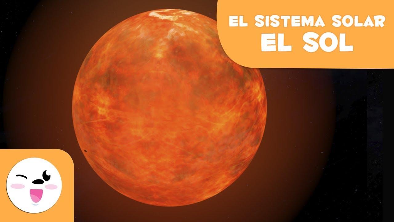 El Sol El Sistema Solar En 3d Para Niños