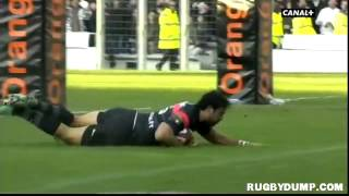 Rugby in France 2012 2013 round 12 Toulouse Clermont