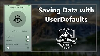 How to Save Data with UserDefaults (iOS, Xcode 8, Swift 3)