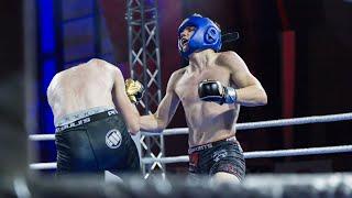 Dawid Niedźwiedzki (MMA Team Ełk) - Wiktor Dmochowski (Fight Academy Ostrołęka)
