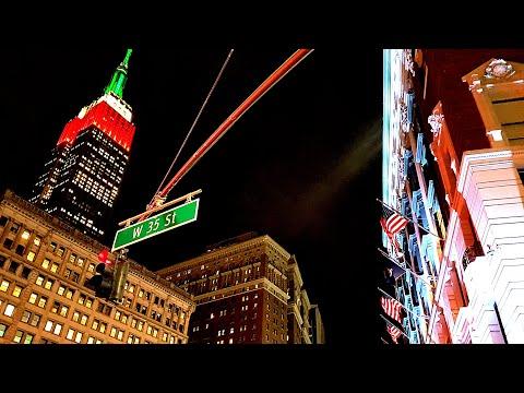 Virtual walk around New York City in 3D 360【VR】