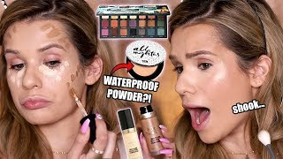 TESTING FULL FACE of HOT NEW MAKEUP! Worth it or Toss it?!