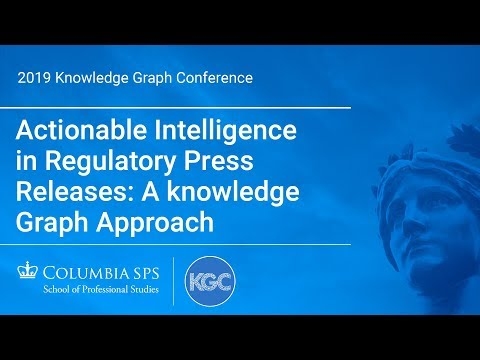 Actionable Intelligence in Regulatory Press Releases: A know