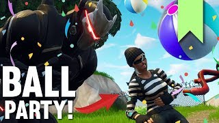 BEACH BALL PARTY IN FORTNITE! | FORTNITE FUNNY FAILS AND BEST MOMENTS #046 (DAILY MOMENTS)