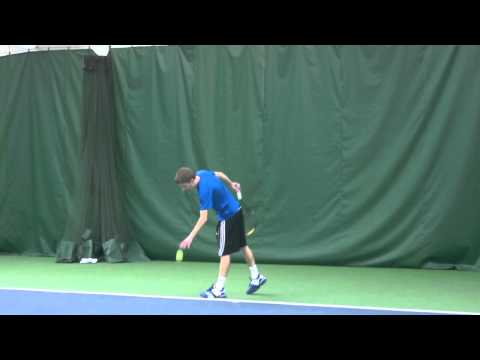 AF100 Test - Tennis - Tom and Garrett hitting at BTC Feb 3rd 2012