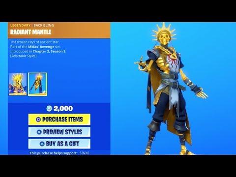 *NEW* ORO SKIN + SKELLON GLIDER..! (Item Shop) Fortnite Battle Royale