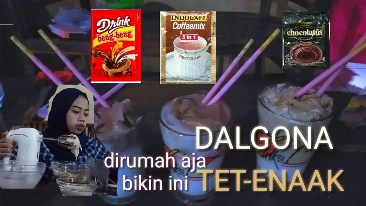 CARA CEPAT MEMBUAT DALGONA COFFEE 3 RASA INDOCAFE ...