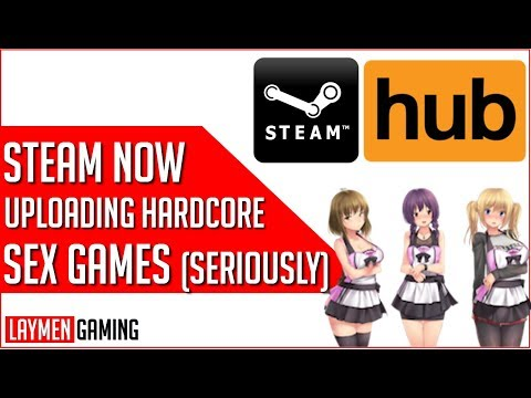 Steam Now Releasing 'Adult Content' Games On Platform