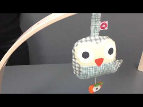 FRANCK & FISCHER -Else Owl Musical Toy