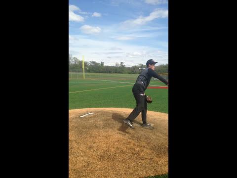 Garrett Gagnon Pitching Overhand Dery