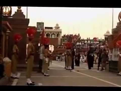 Indian Soldiers Prade at Wagha Border in Amritsar a Must Watch Travel Video