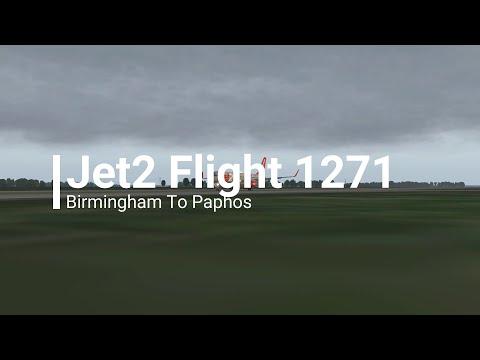 X-Plane 11 | FF757-200 | Jet2 1271 | Birmingham To Paphos