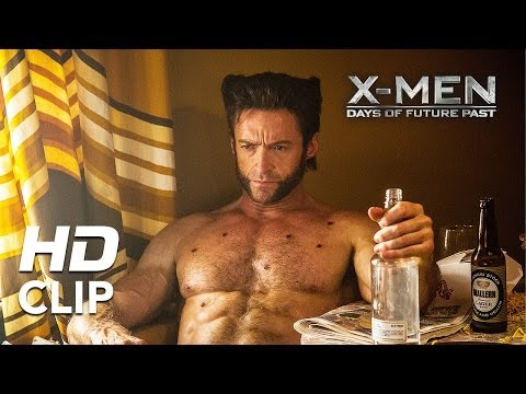 """X-Men: Days Of Future Past   """"Wolverine Meets Beast""""   Clip HD"""