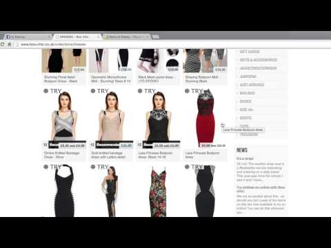 Dressy Live Demo With Personalized Ads