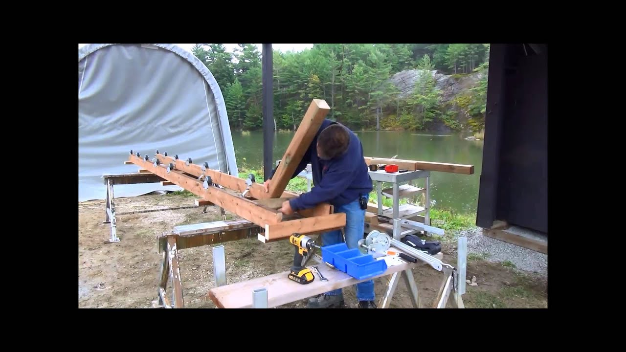 1200 Roller Ramp Assembly - YouTube
