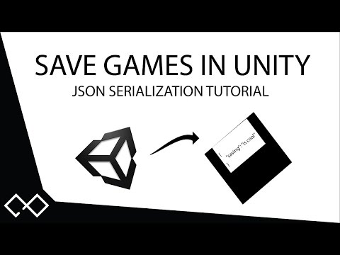 How To Save Your Game In Unity® with JSON | Serialization Tutorial - XML Alternative