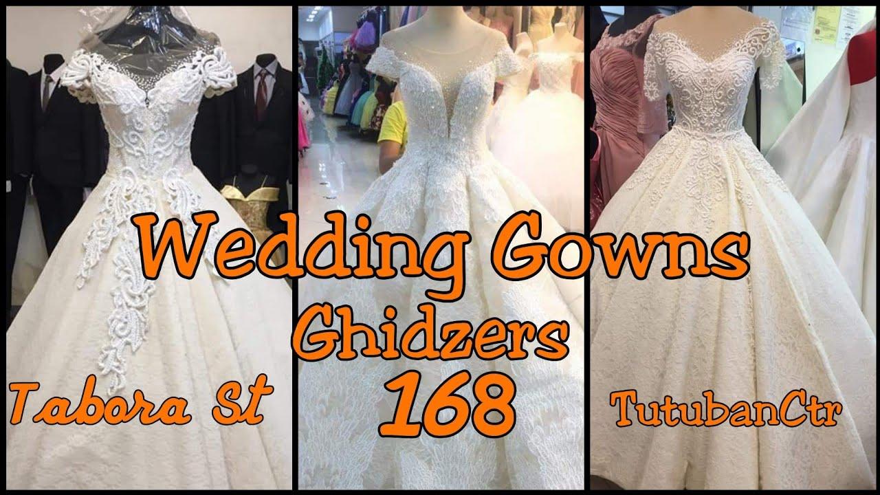 divisoria 168 tutuban center and tabora st wedding gown