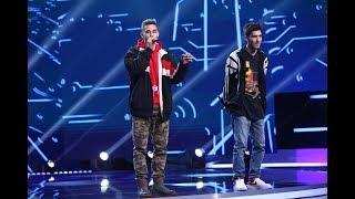 Băieții cu rap-ul s-au întors! Andrei Jitcă și Adrian Constantin au venit să-i ia la roast pe jurați