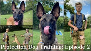Teaching My Son To Train Protection Dogs Episode 2 | Malinois & Dutch Shepherd