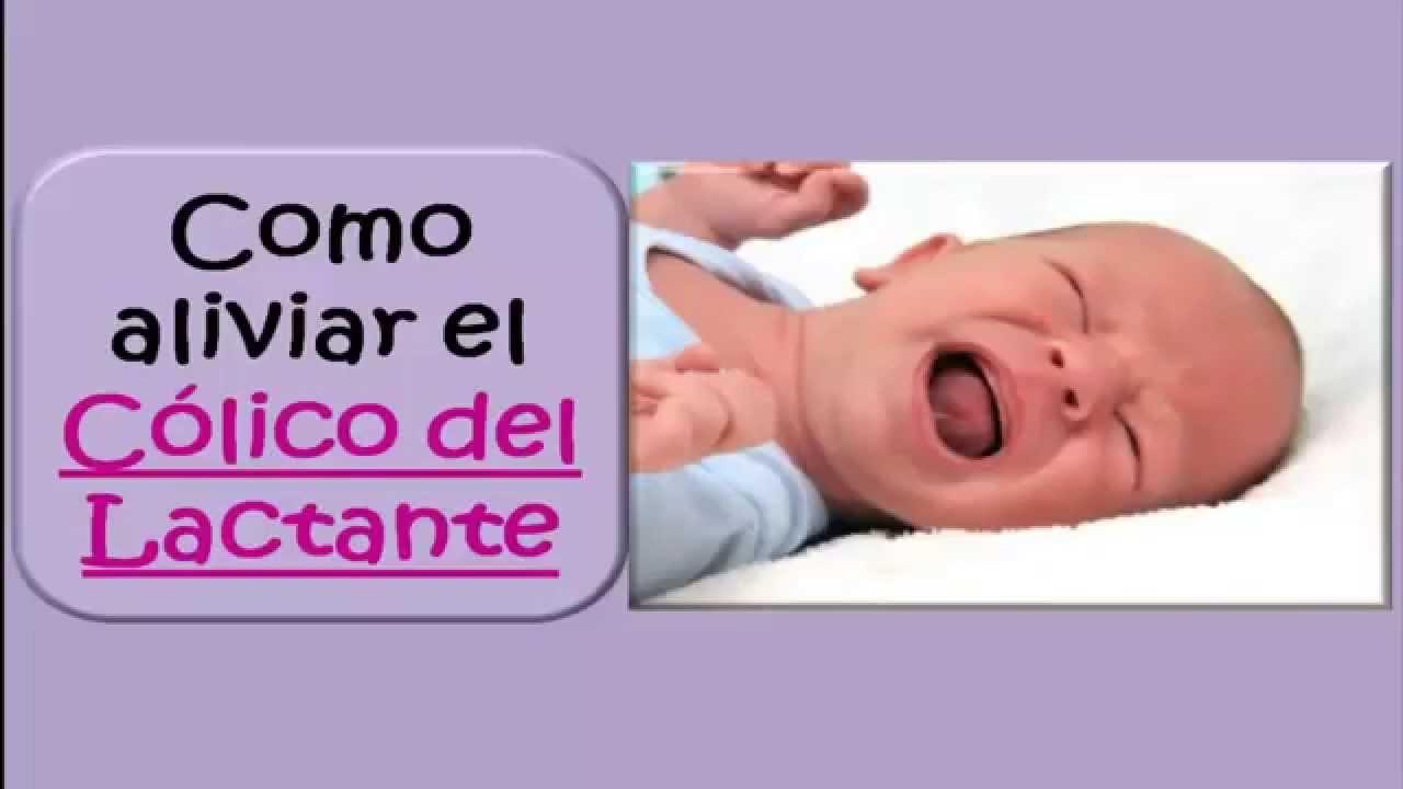 calmar colicos bebe recien nacido