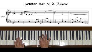 Video Getaran Jiwa by P.  Ramlee Piano Tutorial download MP3, 3GP, MP4, WEBM, AVI, FLV Maret 2018