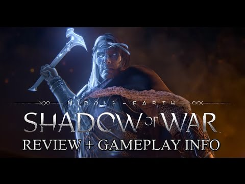 Middle-earth: Shadow of War - Official Announcement Trailer Review + Gameplay Release Info!