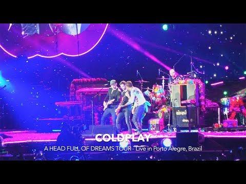 Coldplay live in Porto Alegre - Brazil 2017