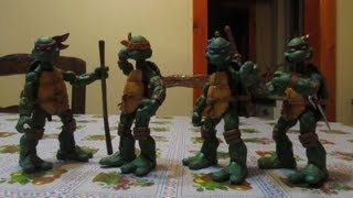 (ESPAÑOL) TORTUGAS NINJA - NECA - full color - figures - review