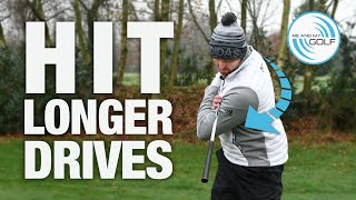 Hit LONGER DRIVES - Winter GOLF Series - Part 1 | ME AND MY GOLF