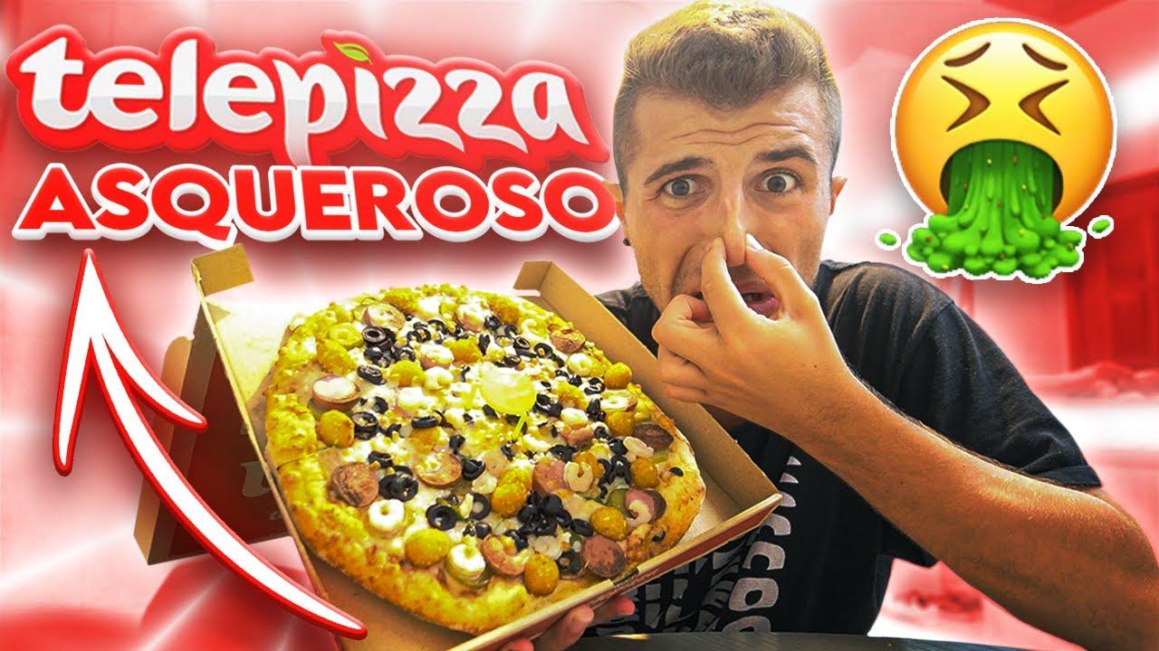 ESTA es LA PIZZA MÁS RARA DEL MUNDO!! 🍕 + SORPRESA - @ibngarcia