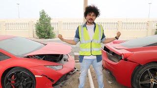 Top 5 Crashed Cars From Dubai Copart ,GTR Skyline , Tesla s , ISF ,