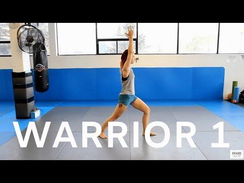Warrior 1 (Virabhadrasana 1) | Yoga Pose Library