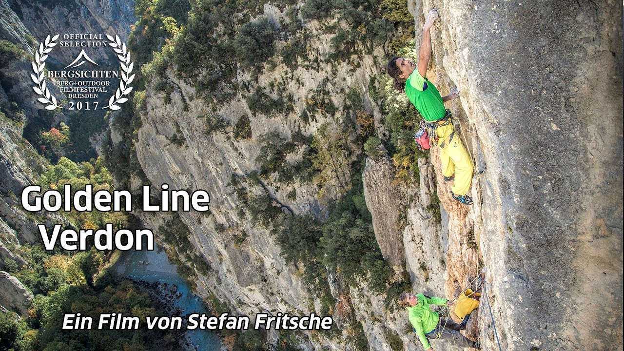 Klettersteig Verdon : Trailer golden line verdon youtube