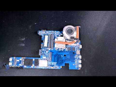 HP ProBook 4340s - Disassembly and cleaning