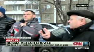 Meteor shower reported in Russia