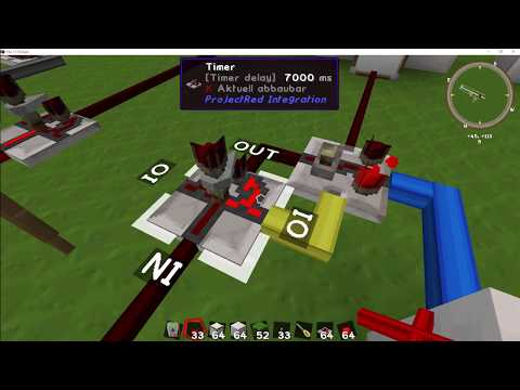 Minecraft Tutorial - Timer (ProjectRed - The 1 7 10 Pack