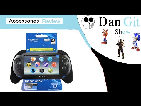Trigger Grips For PS Vita Slim (Accessories Review) | PlayStation Vita | DGS