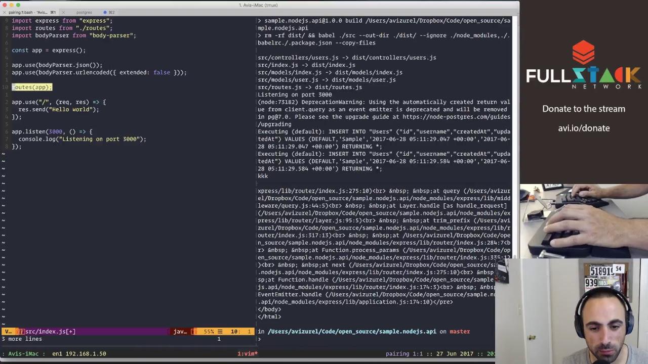 Episode #21— Starting a nodeJS project from scratch