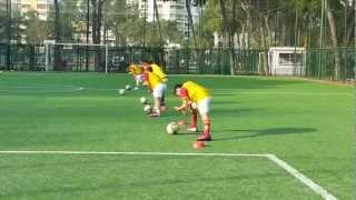Zmir Galatasaray Futbol Okulu Antreman