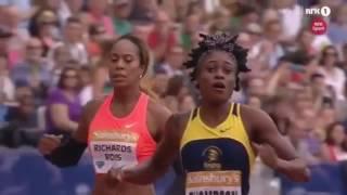 Elaine Thompson vs Allyson Felix (200m)