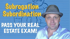 Subordination Vs Subrogation