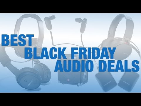 Best Black Friday Audio Deals