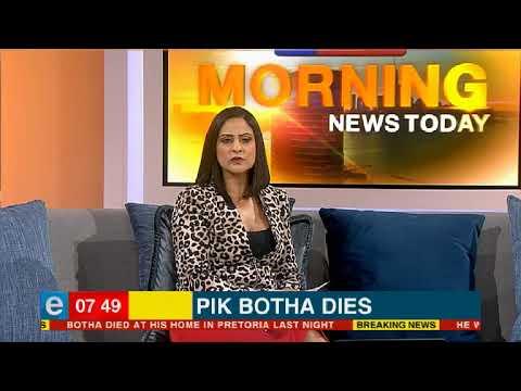 Pik Botha dies