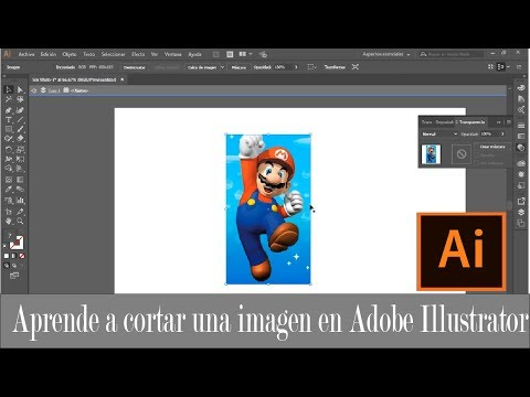 Aprende a cortar una imagen [ Adobe Illustrator ]