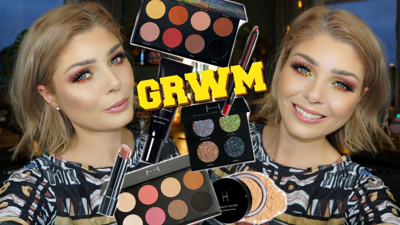 88dfd2df61a2 Linda Hallberg Cosmetics GRWM + My Brow Routine - YouTube