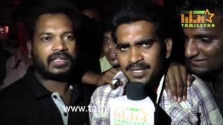 Puli Movie - Vijay Fans Reaction At Kasi Theatre